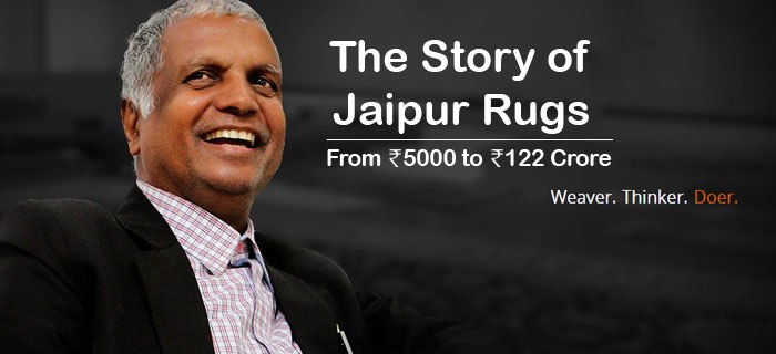 story of Jaipur Rugs